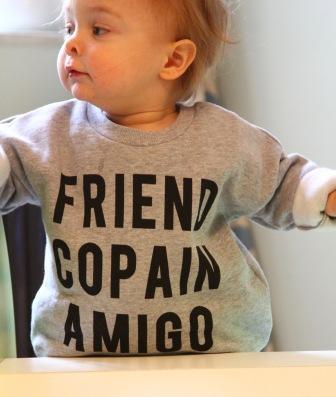 Friend Copain Amigo