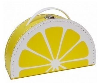 Zitronen-Koffer von Kids Botiek