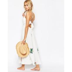 Kleid mit Kaktus-Motiv