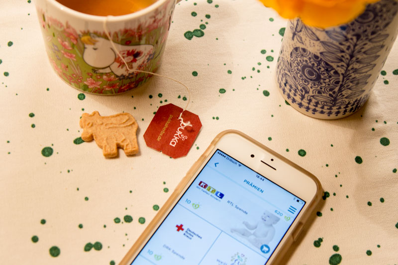Prämien Infos in der neuen Pampers App