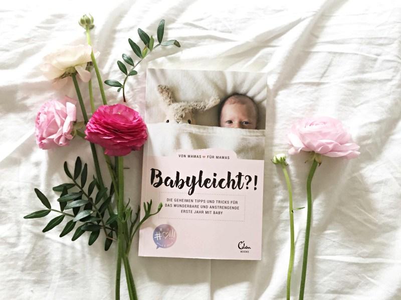 Buch Babyleicht mit Blumen