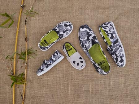 Kooperation: Panda-Schuhe von Wildaid und Tom's