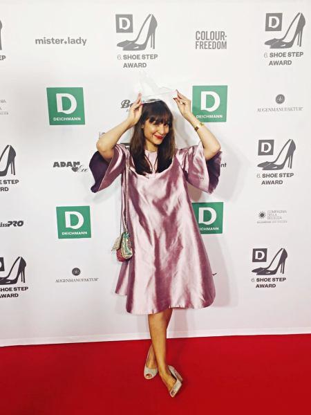 Frau mit Deichmann Shoe Step Award: Susanna Goonawardana von A Family Affair