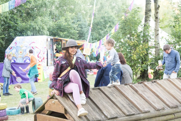 A Summers Tale-Festival mit Kind