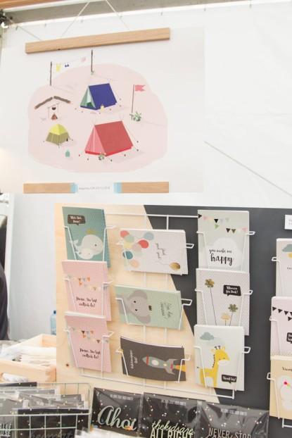 A Summers Tale-Festival mit Kind: Postkarten und Prints von Frau Rasmussons