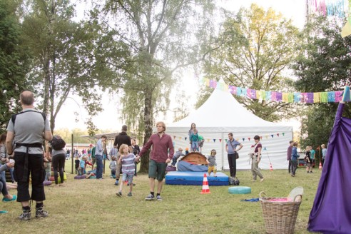 A Summers Tale-Festival mit Kind: Spielwiese und Kinder-Zelte
