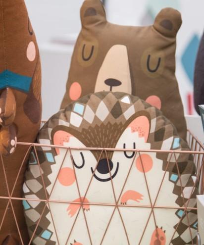 Stoff-Tiere von Tante Tin auf dem A Summers Tale-Festival