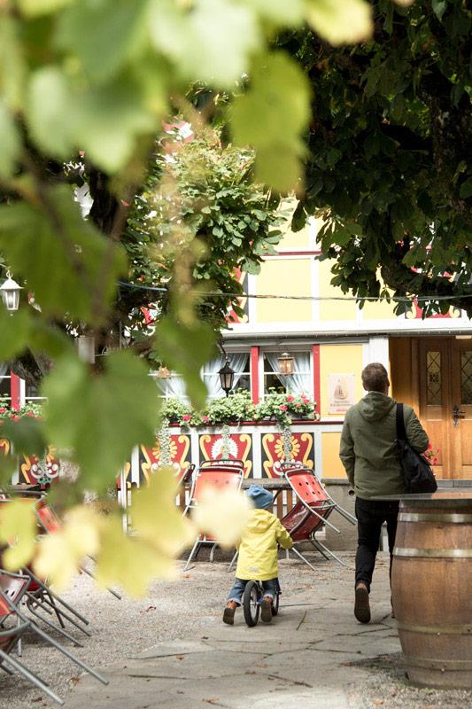 Restaurantbesuch Appenzell