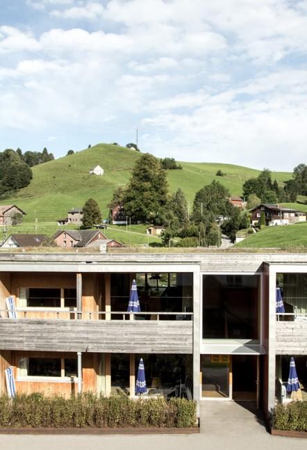 Minergie-eco-Häuser im Reka Feriendorf Urnäsch