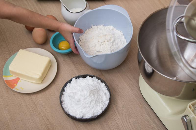 zutaten-kekse-backen-mit-kind