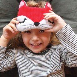 Geschenkidee von geschenke.de: Schlafmaske Fuchs