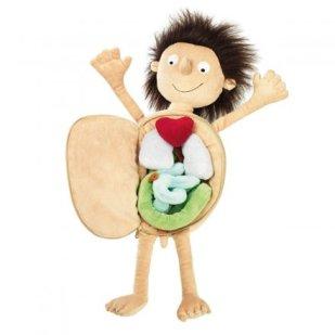 Geschenkidee von geschenke.de: Erwin, der kleine Patient, Puppe von Sigikid mit herausnehmbaren Organen