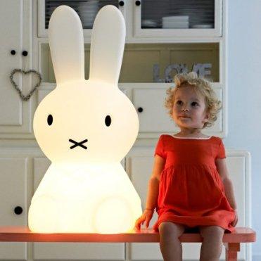 Geschenkidee von geschenke.de: Lampe Miffy