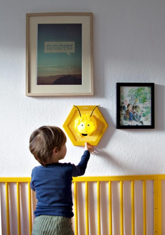 wandlampe-biene-maja-varta-anschalten