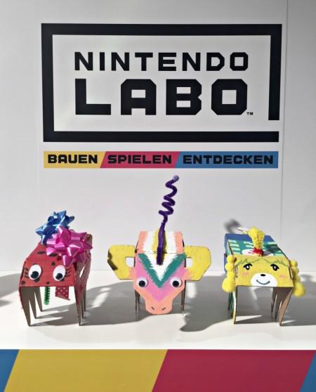 diverse individualisierte DIY-Tiere von Nintendo Labo: Bauen, Spielen Entdecken