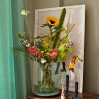 Superfrische Blumen von Bloomon |Unser Wohnzimmer blüht auf