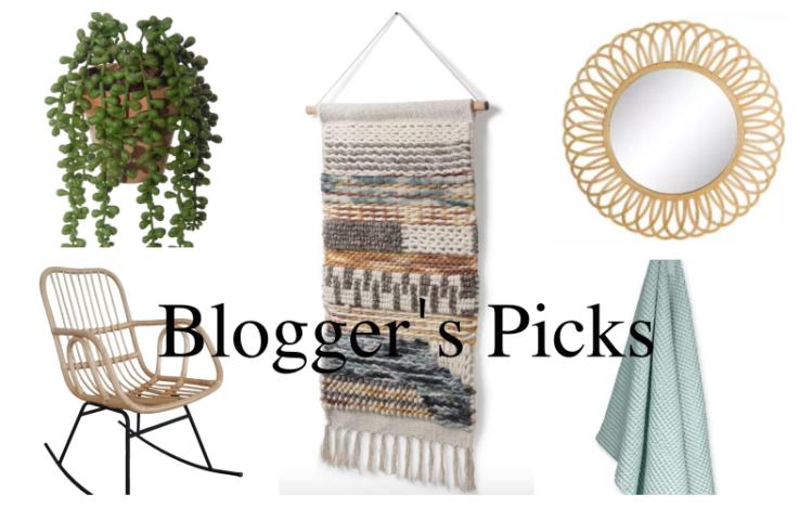 Kollage von Blogger's Picks: nachhaltige Interior-Produkte von wayfair.de