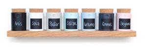 Nachhaltige Weihnachtsgeschenke für Männer: handgearbeitetes Gewürzregal