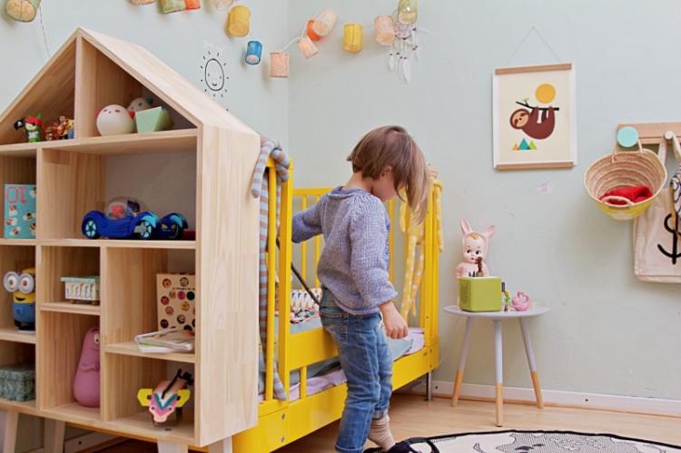 Kinderzimmer Makeover Mit Wayfair Viel Stauraum Furs Spielzimmer