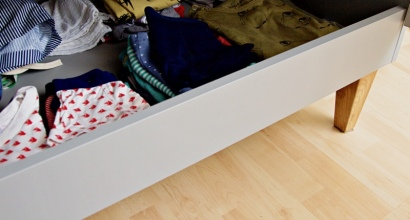 Ablage für Unterwäsche im Schrank von Meble Vox über wayfair